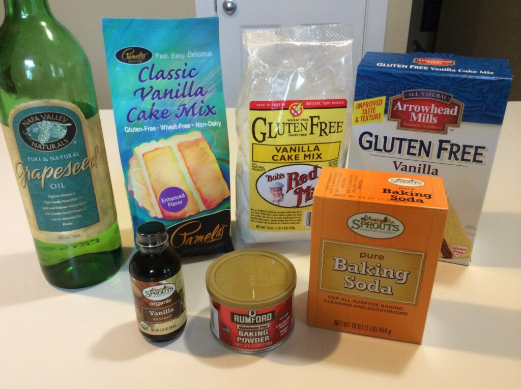 Various Baking Products