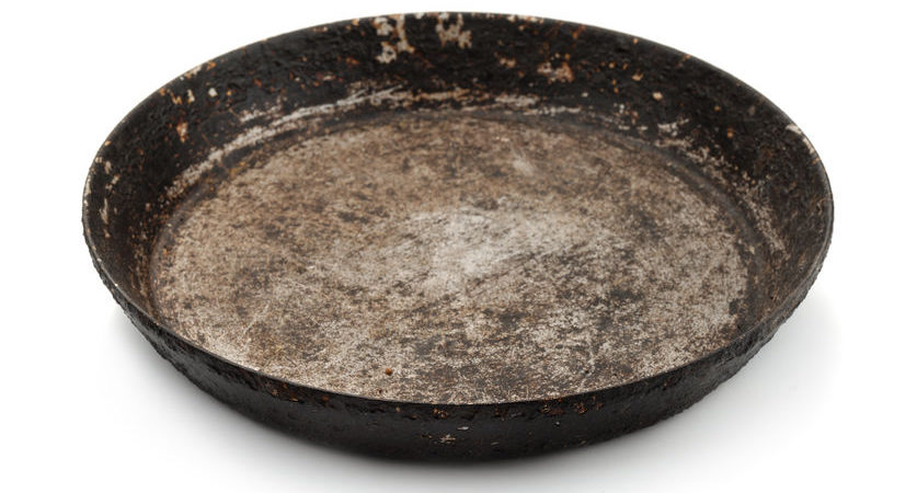 Rusty Baking Pan