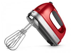 Candy Apple Red 9-Speed Hand Mixer by KitchenAid