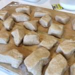 Bierock dough ready to be rolled
