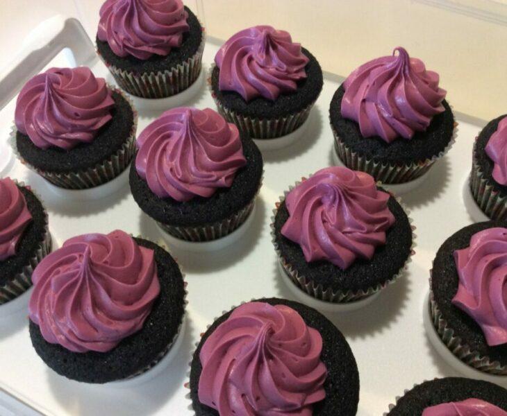 Black Velvet Cupcakes