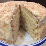 Old Fashioned Coconut Cake