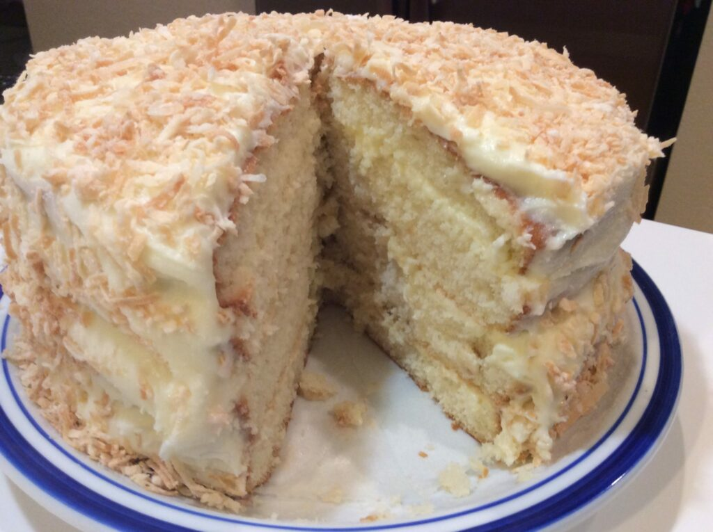 Old Fashioned Coconut Cake Icing