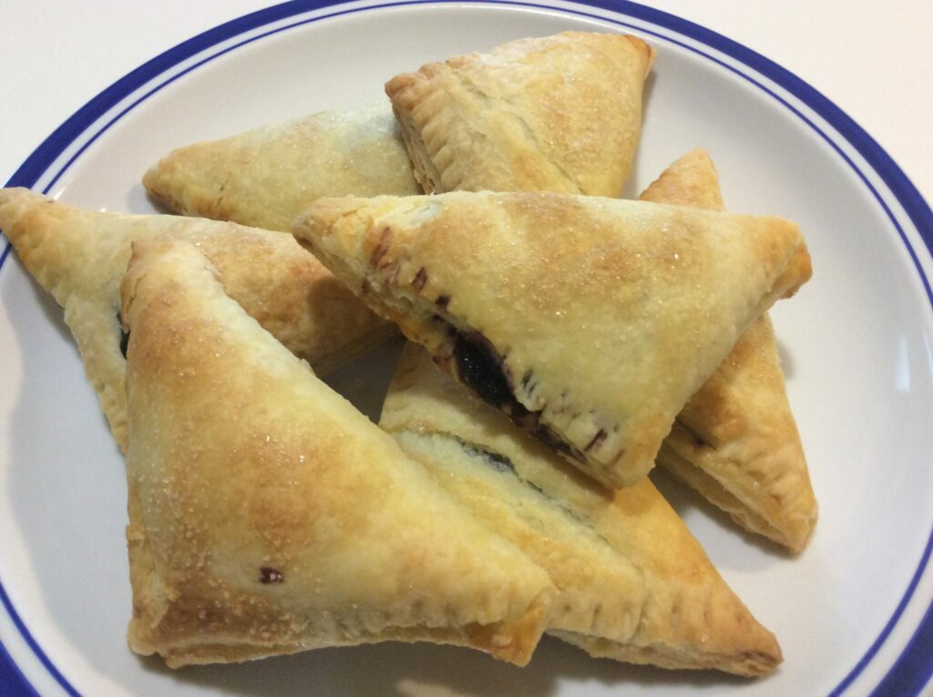 Black Raspberry Turnovers