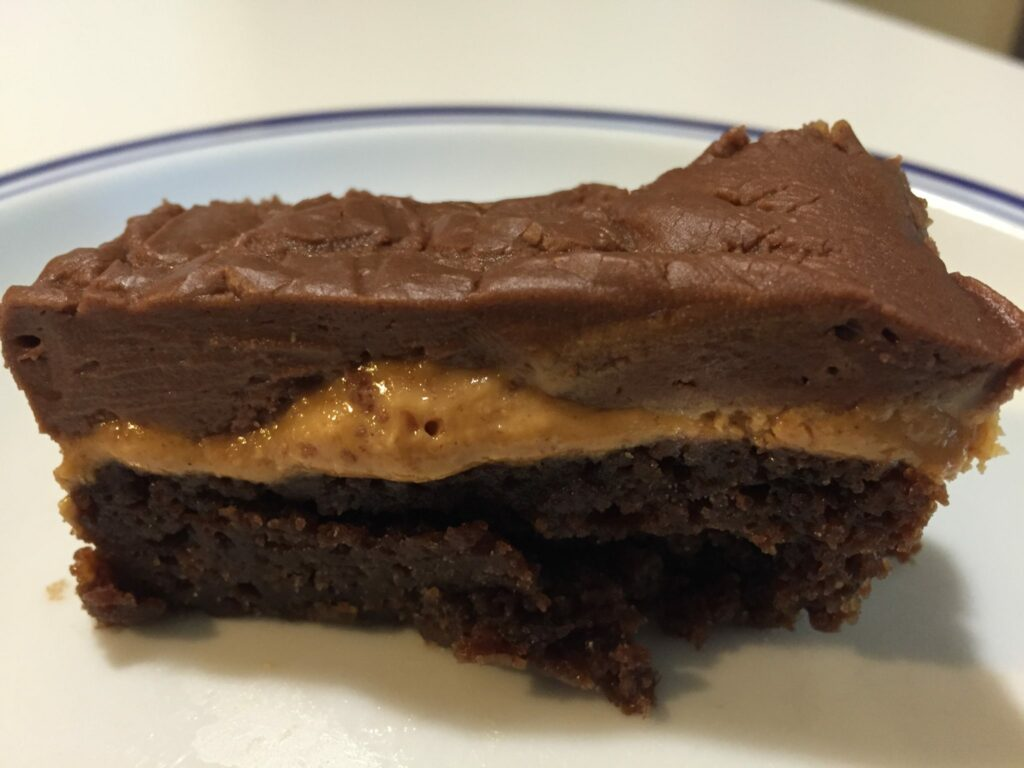 Chocolate Peanut Butter Overdose Bars