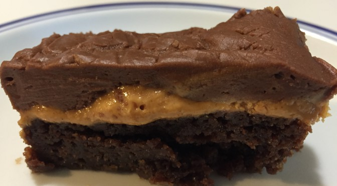 Chocolate Peanut Butter Overdose Bars