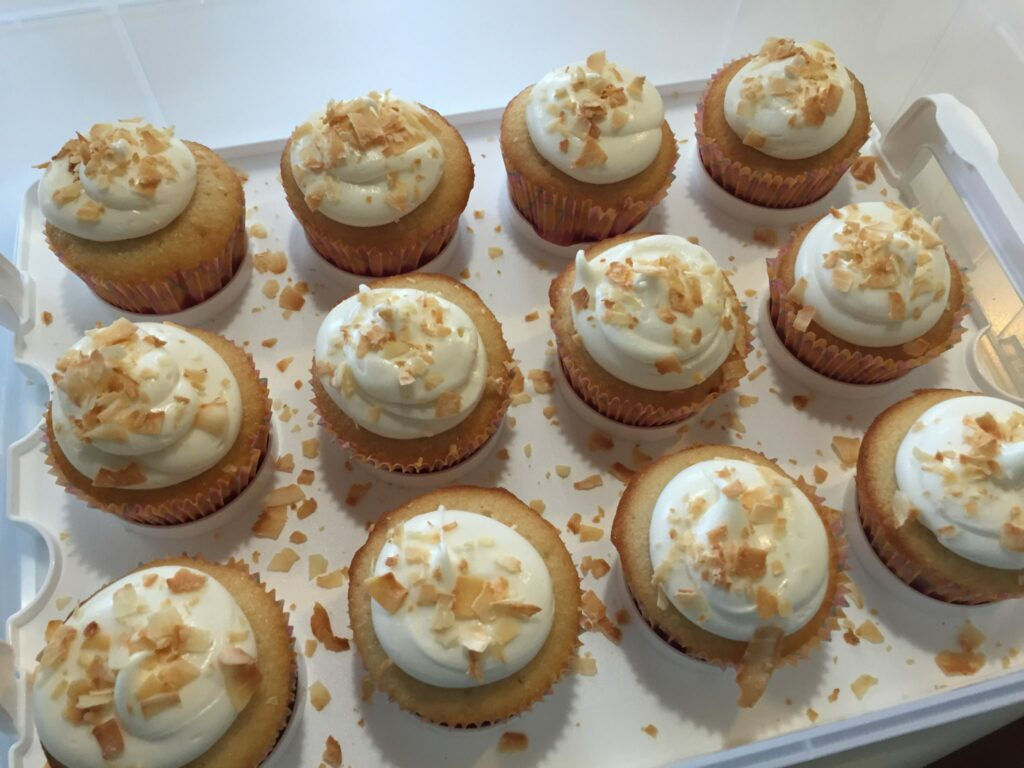 Coconut Milk Cupcakes