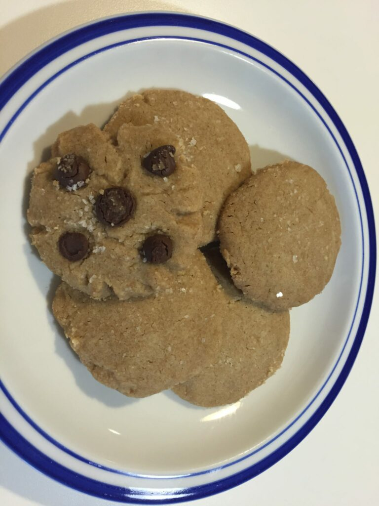 Brown Butter Sea Salt Cookies