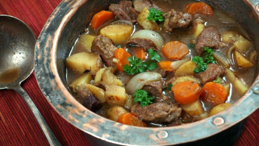 Authentic Irish Stew