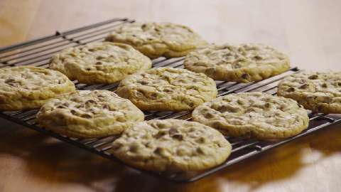 The Secret to Chewy Chocolate Chip Cookies