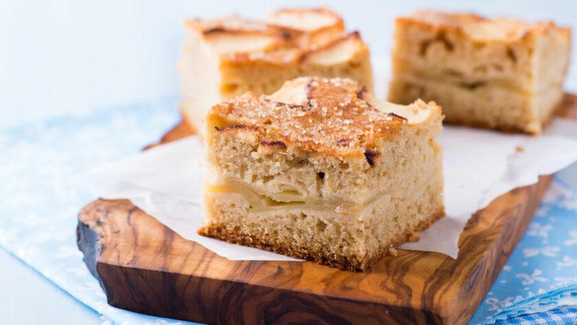 Apfelkuchen Overnight Coffee Cake