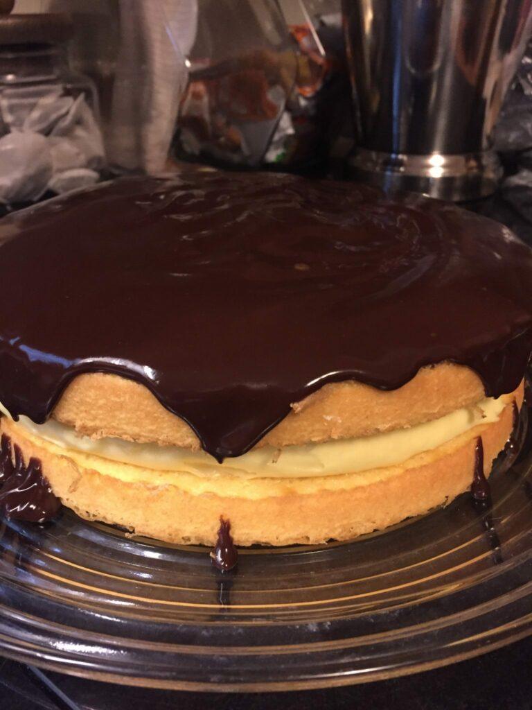 Wicked Good Boston Cream Pie
