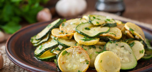 Zucchini and Summer Squash Saute