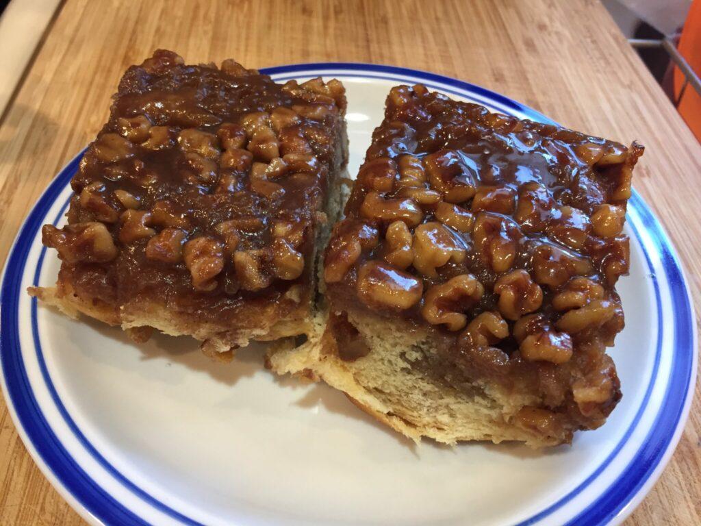 Caramel Walnut Rolls